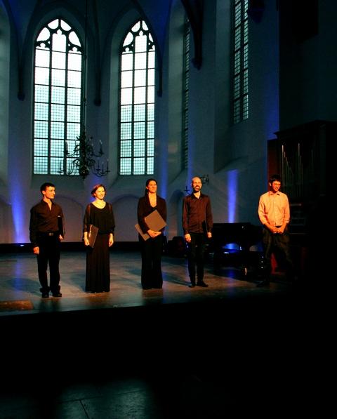 Vocaallab at Gaudeamus 2012